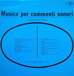 Musica Per Commenti Sonori: Tecnologia Elettronica (1986)