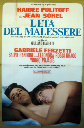 L'età del malessere (The Age of Malaise) (1968) film poster