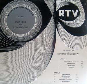 Underground (1970) Record TV Discografica