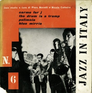 Modern Jazz Gang - Jazz In Italy (1960) Cetra