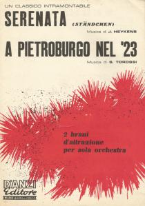 A Pietroburgo Nel 23 sheet music