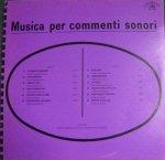 Giancarlo Gazzani - Musica per commenti sonori (1971) Costanza Records (CO 10007)