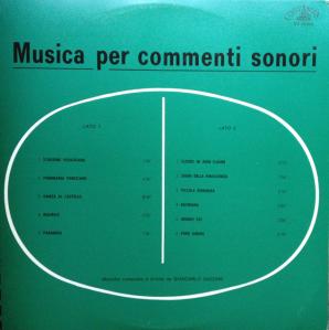 Giancarlo Gazzani - Musica per commenti sonori (1971) Costanza Records