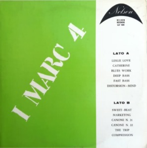 I Marc 4 - I Marc 4 (1970 Nelson Records [G.L.P. 1004)