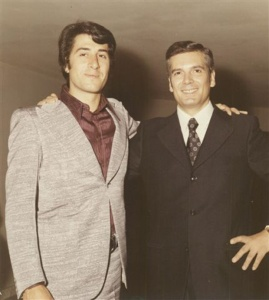 Vito Tommaso with Giuliano Cenci in 1972 (photo from www.rapportoconfidenziale.org)