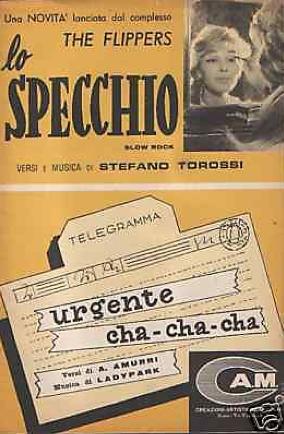 Lo Specchio - Urgente and Cha-Cha-Cha Torossi sheet music
