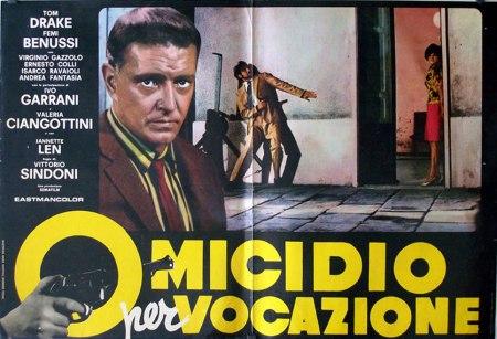 Omicidio per vocazione (1968) film poster