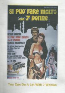 Fabio Piccioni's You Can Do A Lot With 7 Women (1971) (PAL version)