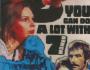 Film: Fabio Piccioni's Si puo fare molto con sette donne (You Can Do a lot With 7 Women) (1972), music by Franco De Gemini and StefanoTorossi
