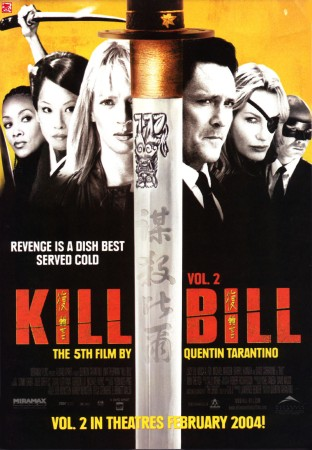 Kill Bill Vol 2 (2004) film poster