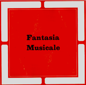 Beppe Carta and Stefano Torossi - Fantasia musicale (early 1970s) Metropole Records