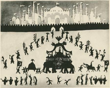 image from Die Geschichte des Prinzen Achmed