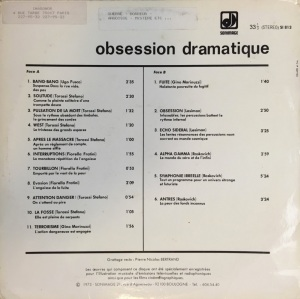 Obsession dramatique (1973) Sonimage back