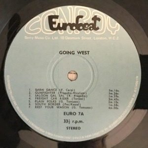 Going West - Two Guitars (1970s) Conroy Eurobeat label