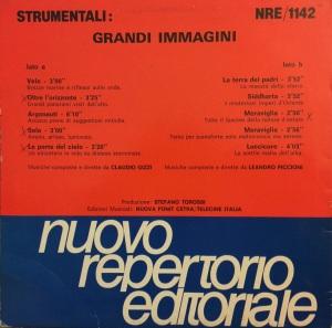 Leandro Piccioni & Claudio Gizzi - Strumentali: Grande immagini (1988) Fonit Cetra