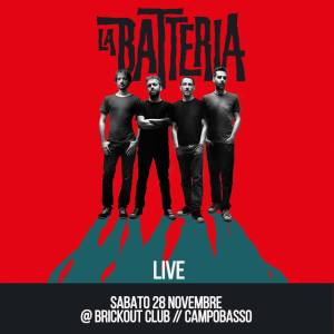 La Batteria live at Brickout Club