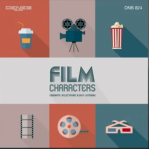 Film Characters: Cinematic - Electronic - Easy Listening (2015) Deneb Records