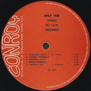 Jay Richford and Gary Stevan - Feelings (1976 Reissue) Conroy label