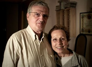 a recent photo of Giacomo and Edda Dell'Orso