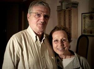 a recent photo of Giacomo and Edda Dell'Orso