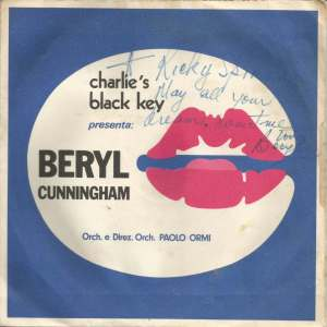 Beryl Cunningham - Charlie's Black Key (1970s)