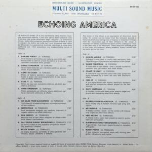 Giovanni Tommaso and Stefano Torossi - Echoing America (1970) SR Records back