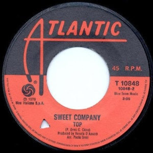 "Sweet Company - ""Life"" / ""Top"" (1976) Atlantic label"
