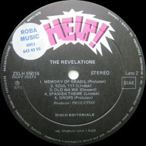 The Revelations (1971) Help! label