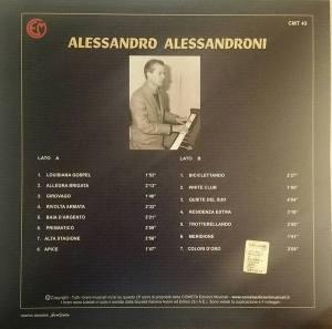 Alessandro Alessandroni - Alessandro Alessandroni (Farfalla #3) (2015) Cometa back