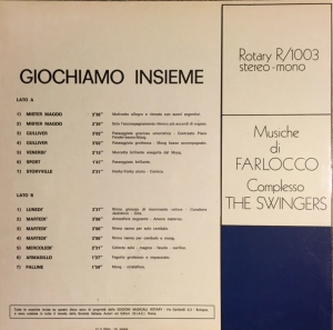 Farlocco - Giochiamo insieme (1974) Rotary