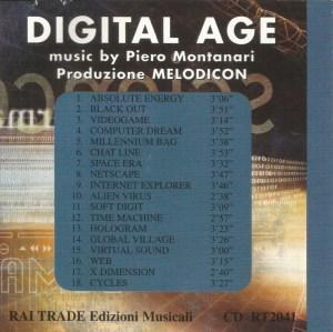 Piero Montanari - Digital Age (1999) Rai Trade back