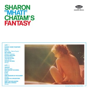 "Sharon ""Mhati"" Chatam - Fantasy (2016 Reissue) Cinedelic Records (1973) back"