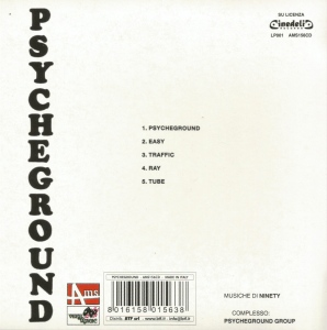 The Psycheground Group - Psychedelic And Underground Music (2009 Reissue) AMS (1971) back