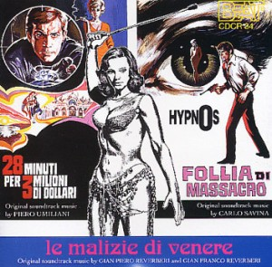 Various Artists - La malizie di venere - 28 minuti per 3 milioni di dollari - Hypnos - follia di massacro OST (1996) Beat Records Company