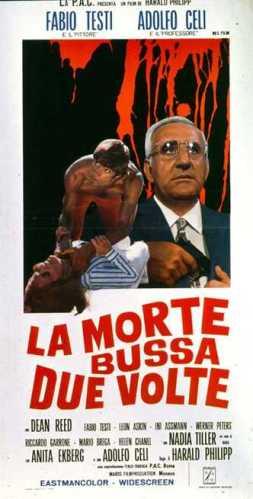 Harald Philipp's La morte bussa due volte (1975) film poster