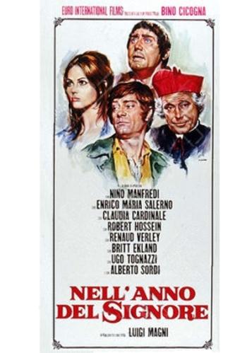 Luigi Magni's Nell'anno del Signore (1969) film poster