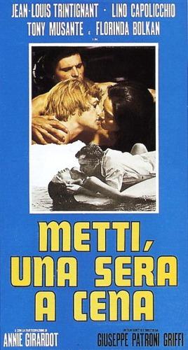 Giuseppe Patroni Griffi's Metti, una sera a cena (1969) film poster