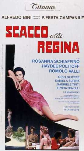 Pasquale Festa Campinile's Scacco alla regina (1969) film poster