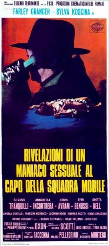 Roberto Bianchi Montero's Rivelazioni di un manico sessuale al capo della squadra mobile (1972) film poster