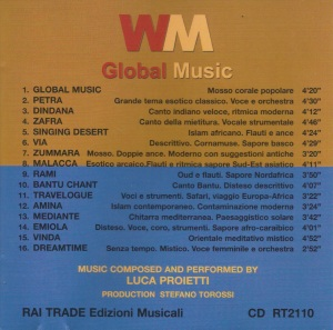 Luca Proietti - WM Global Music (2004) Rai Trade back