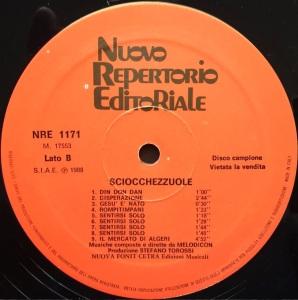 Melodicon (aka Stefano Torossi) - Strumentali - Sciocchezzuole (1988) Fonit Cetra label B