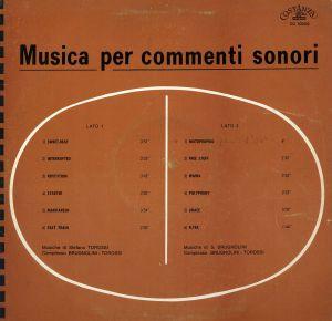 Sandro Brugnolini and Stefano Torossi - Musica per commenti sonori (1969) Costanza Records