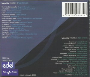 Various Artists - Lineablu (2008) Rai Trade back