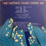 Red Redford Sound Sistem One - RRSSONE (1976) EMI back