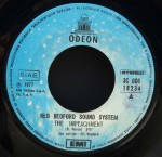 """Red Redford Sound System - """"The Impeachment"""" (1977) Odeon-EMI label A"""