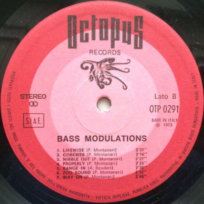 Roberto Conrado, Piero Montanari, and Antonino Scuderi - Bass Modulations (1973) Octopus Records label B