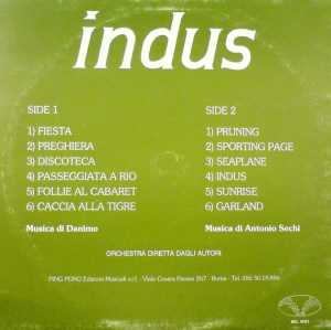 Danimo and Antonio Sechi - Indus (late 1970s-early 1980s) Ping Ping