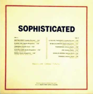 Various Artists - Sophisticated (1988) Fonit Cetra