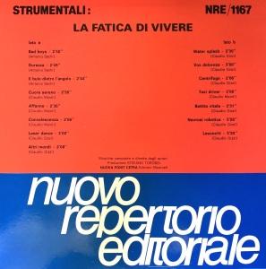 Various Artists - Strumentali: La fatica di vivere (1988) Fonit Cetra