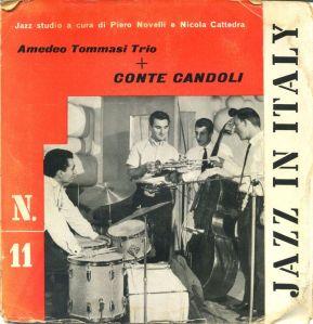 Amedeo Tommasi Trio + Conte Candoli - Jazz In Italy N.11 (1960) Cetra [EP]